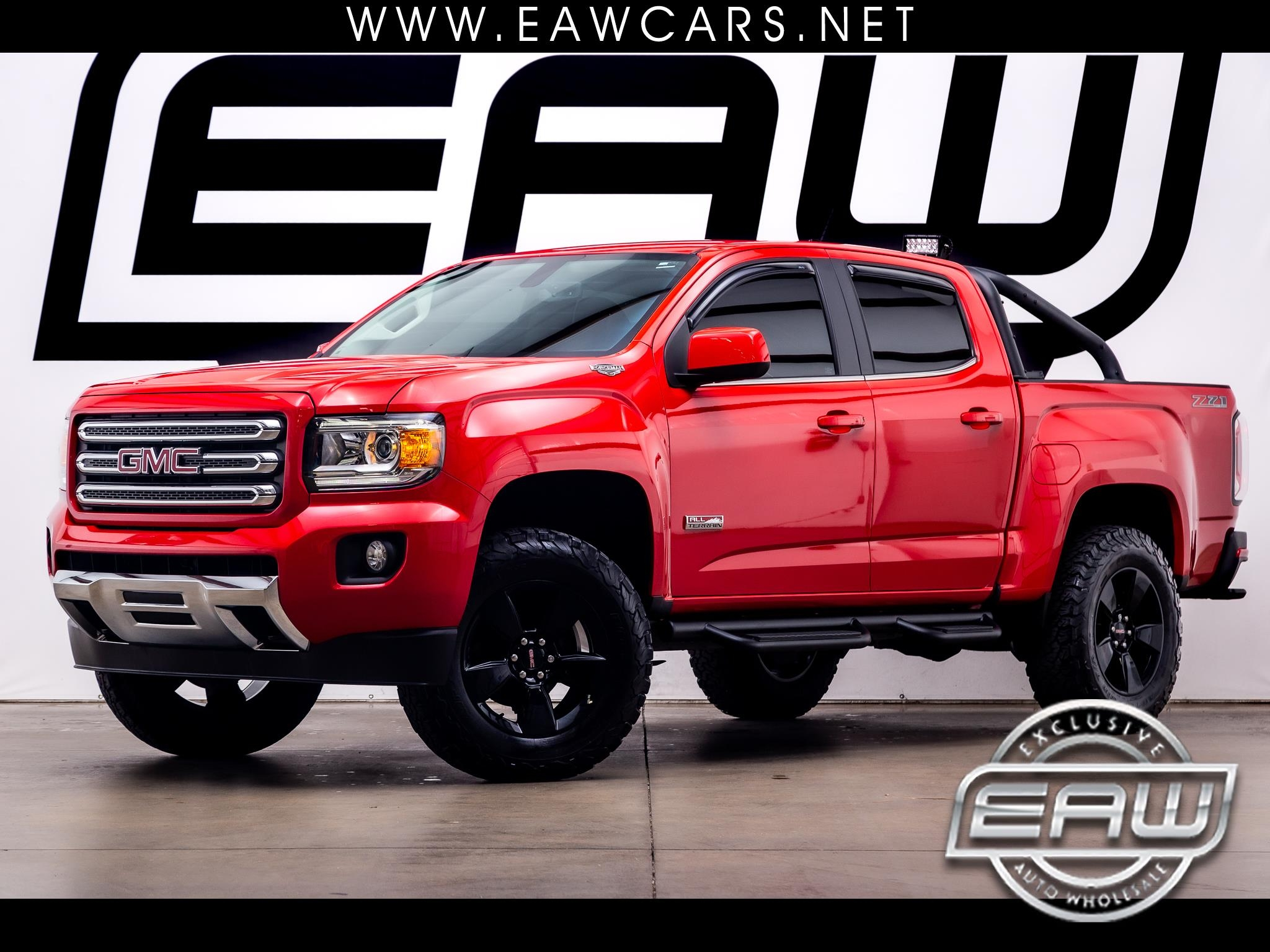 GMC Canyon All Terrain Crew Cab 4WD 2016