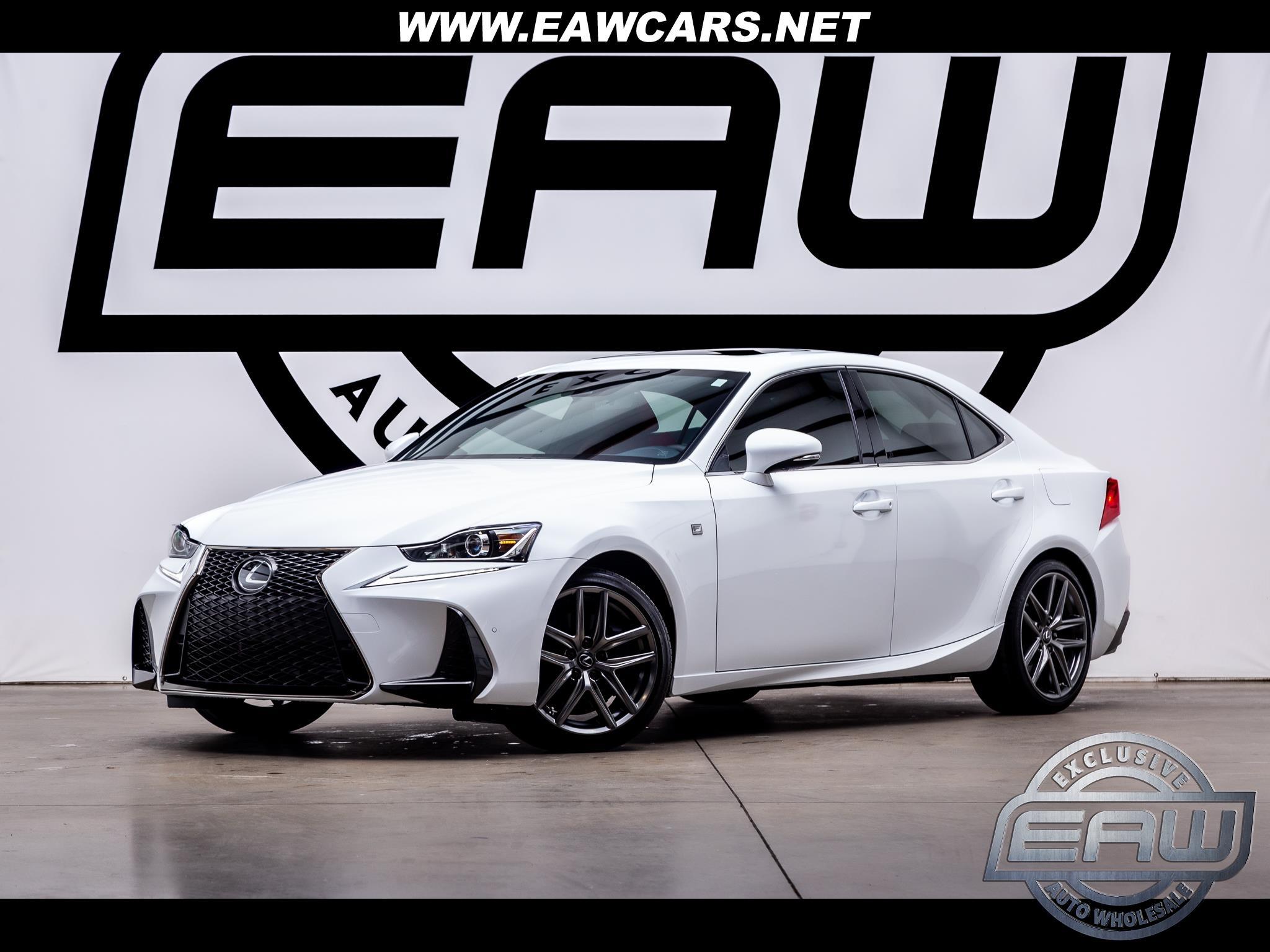 Lexus IS F SPORT 350 RWD 2020