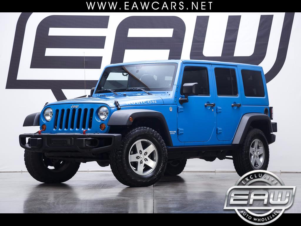 2012 Jeep Wrangler Unlimited Rubicon 4WD