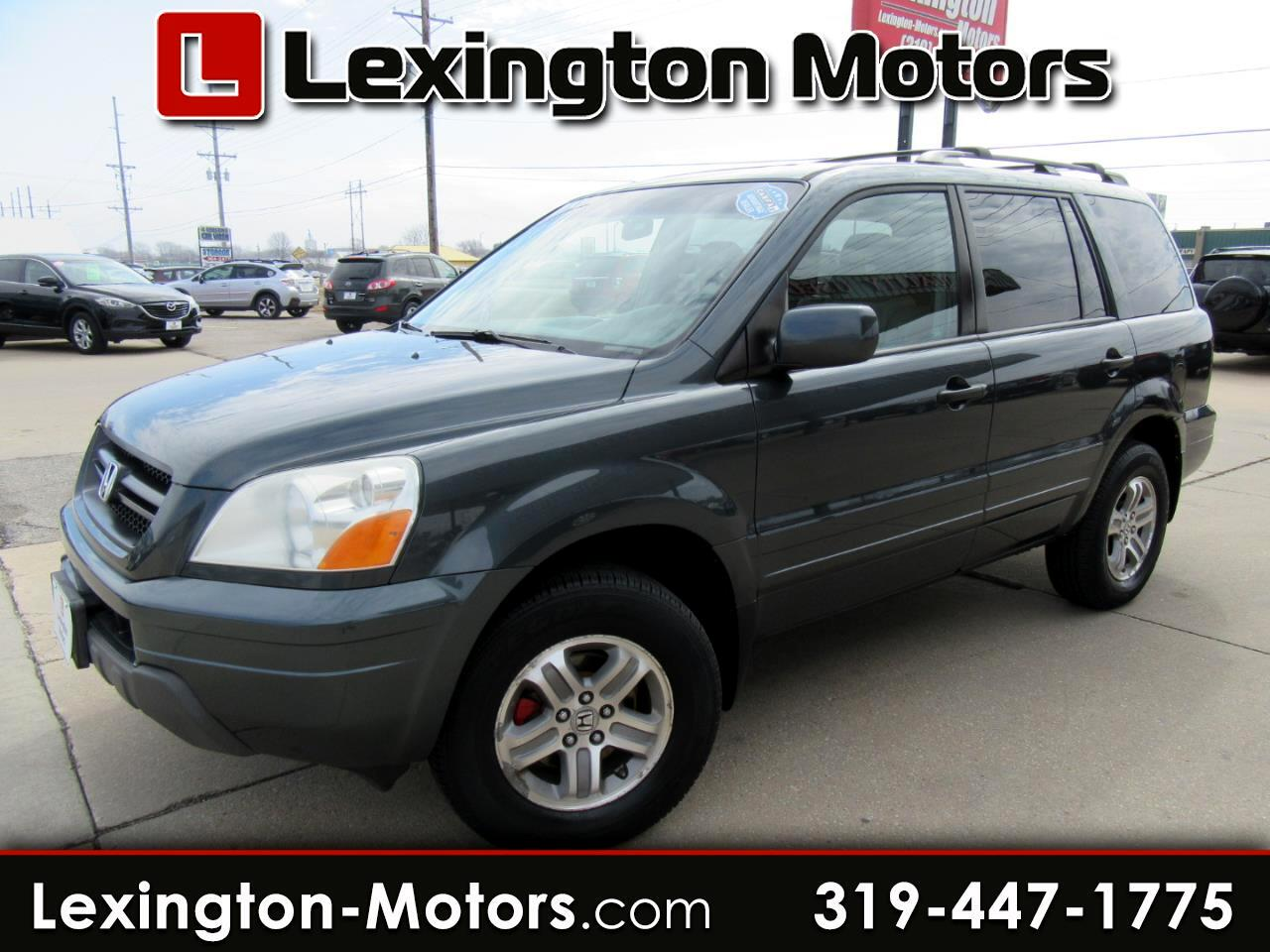 Honda Pilot EX w/ Leather and Navigation 2005