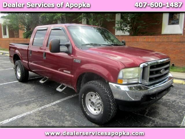 2004 Ford F-250 SD XLT Crew Cab Short Bed 4WD