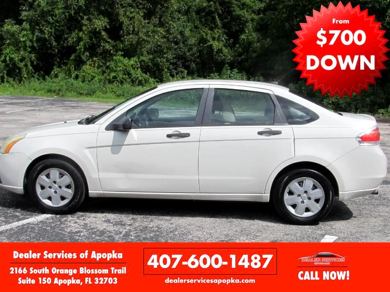 2009 Ford FOCUS S 4dr Sdn S