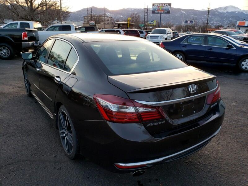 2016 Honda Accord Sport Sedan CVT
