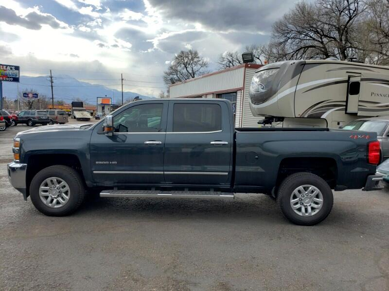 2019 Chevrolet Silverado 2500HD LTZ Crew Cab Short Box 4WD