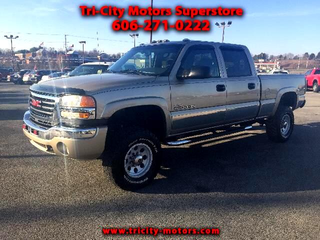 2005 GMC Sierra 2500HD SLT Crew Cab Short Bed 4WD