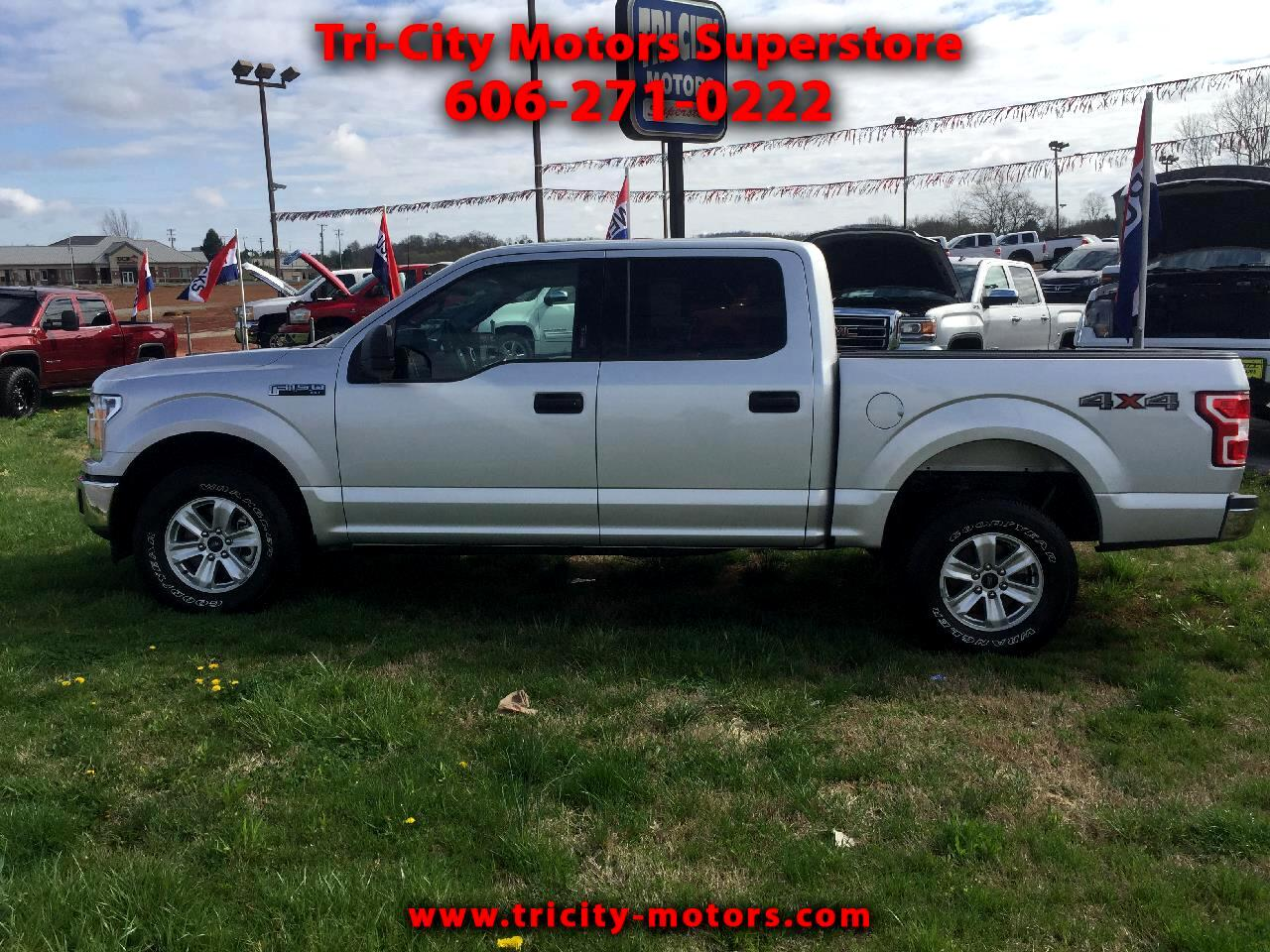 2018 Ford F-150 XLT 4WD SuperCrew