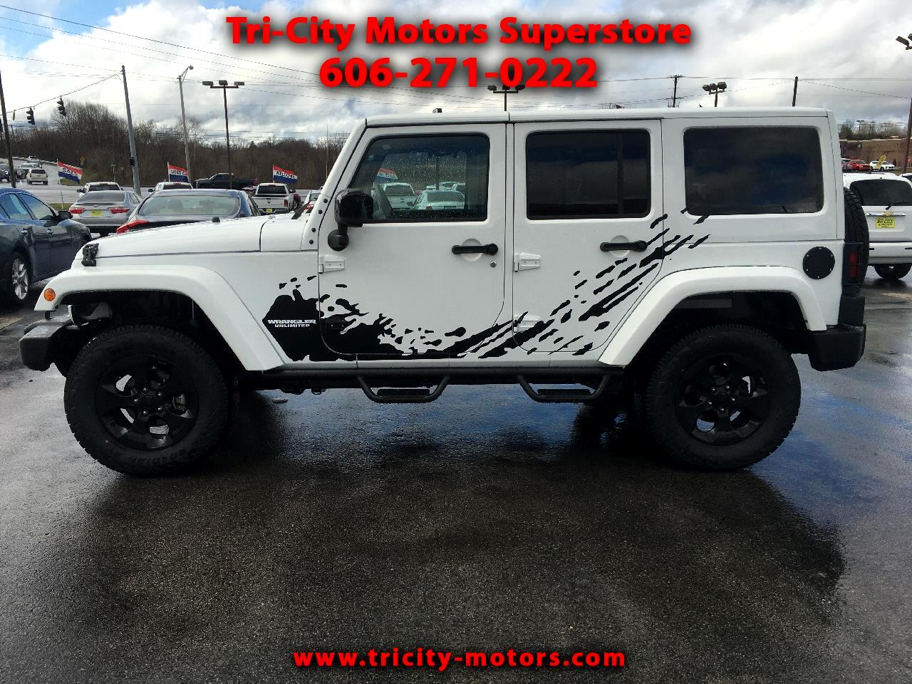 Jeep Wrangler Unlimited 4WD 4dr Altitude 2015