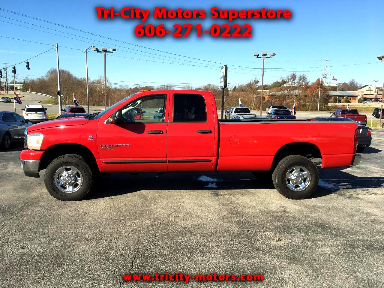 Dodge Ram 3500 SLT Quad Cab Long Bed 4WD 2006