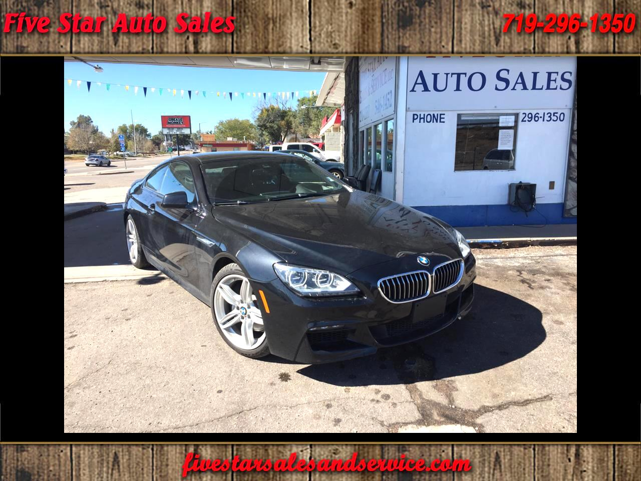 2014 BMW 6-Series 640xi Coupe