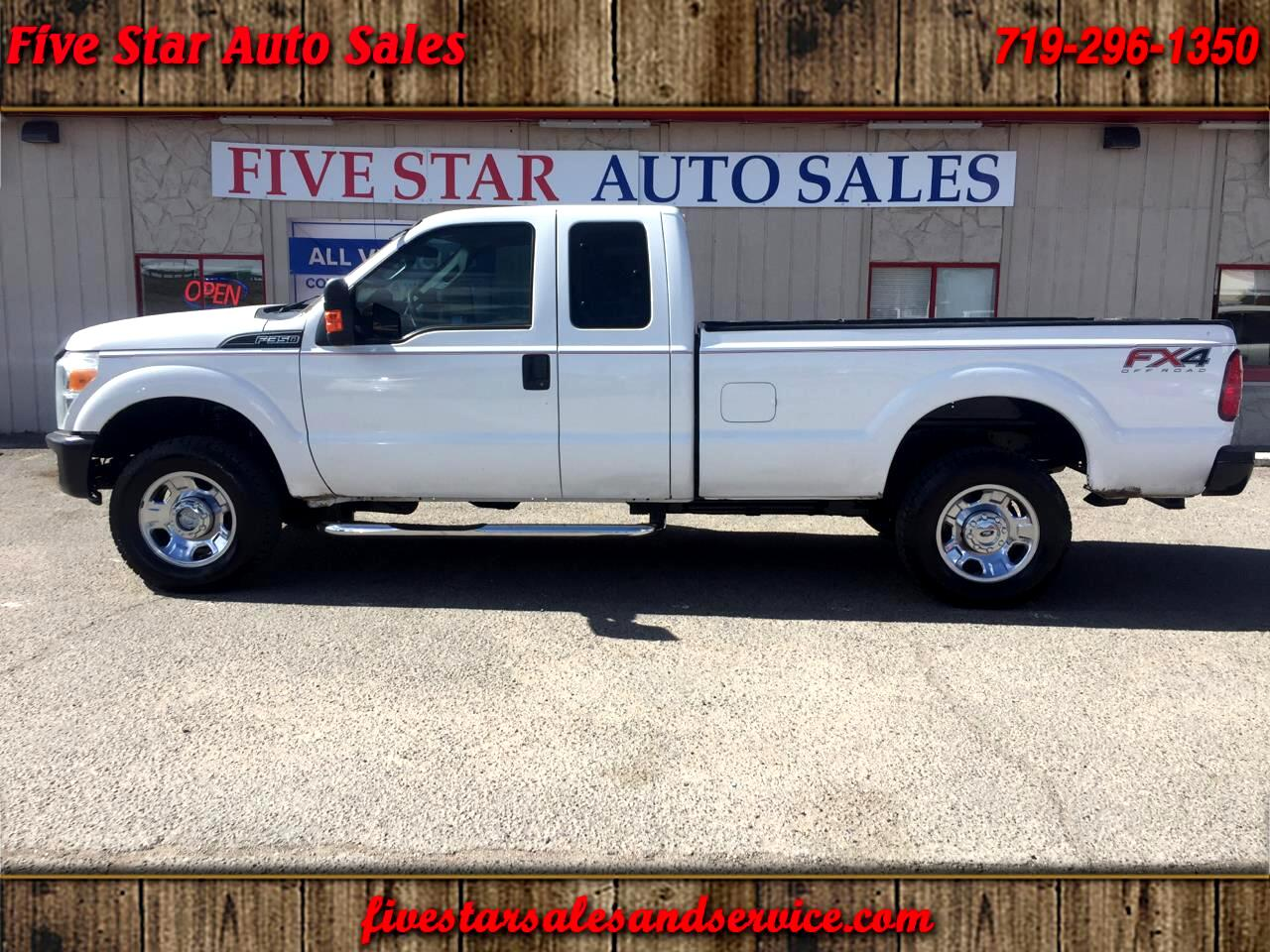 2013 Ford F-350 SD XL SuperCab 4WD
