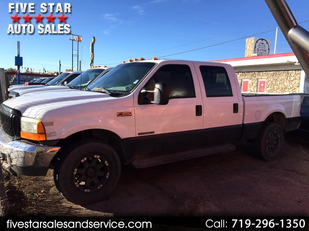 2000 Ford F-350 SD XL Crew Cab Short Bed 4WD