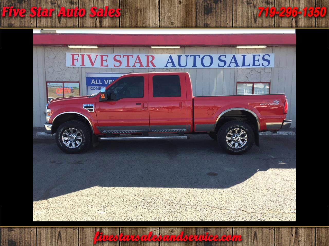 2010 Ford F-350 SD Lariat Crew Cab Short Bed 4WD