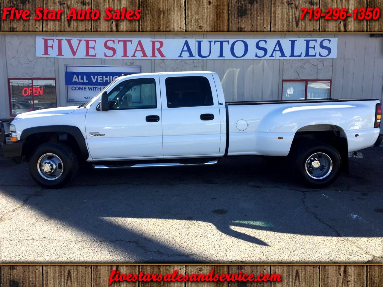 2001 Chevrolet Silverado 3500 Crew Cab 2WD