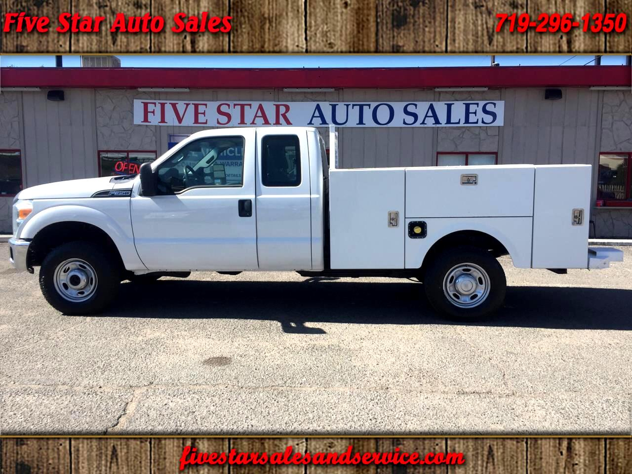 2015 Ford F-350 SD Crew Cab 4WD