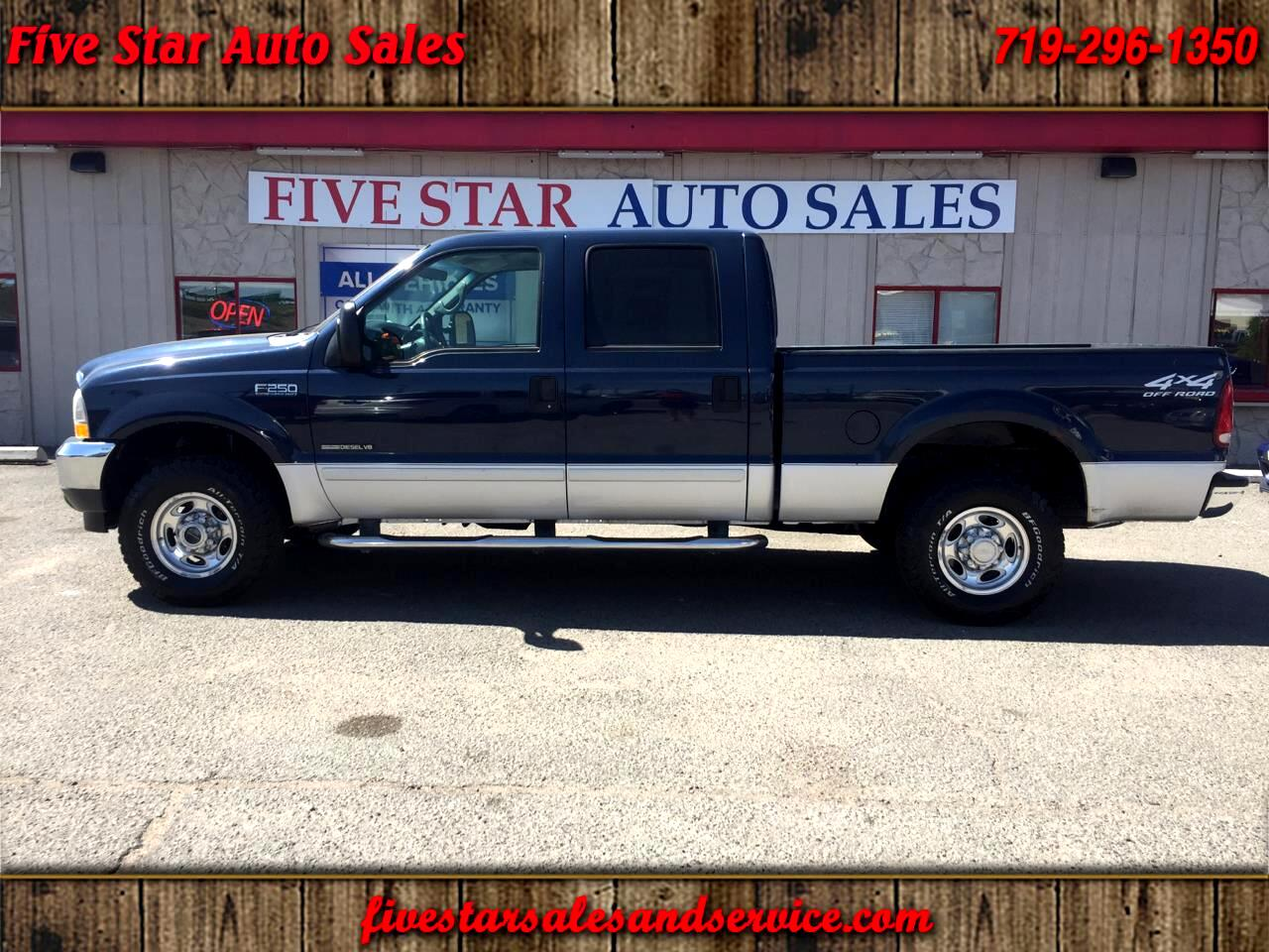 2002 Ford F-250 SD XL Crew Cab 4WD
