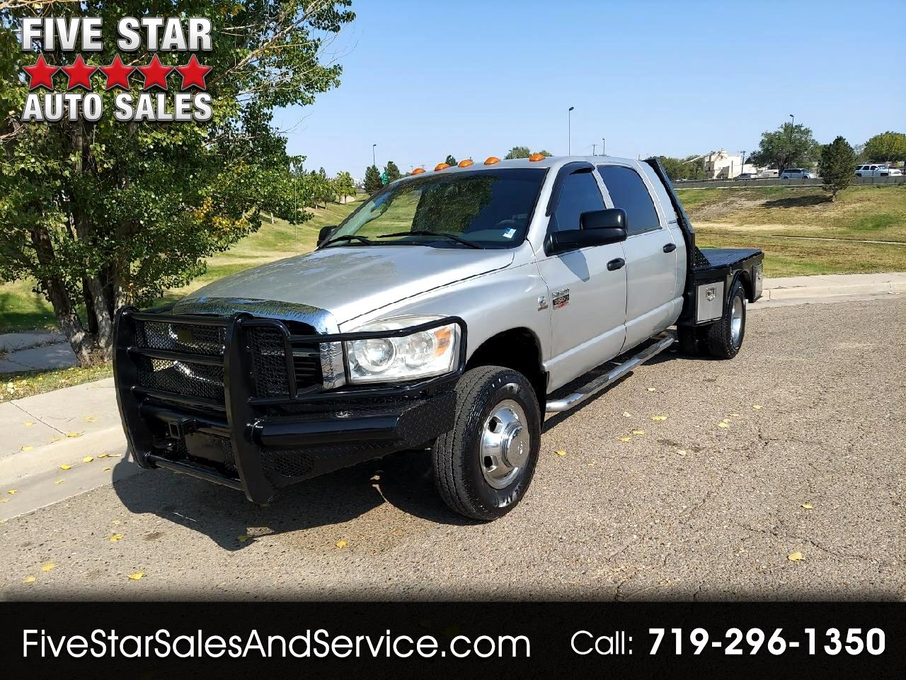 Used 2007 Dodge Ram 3500 Slt Mega Cab 4x4 5 9l Diesel Dually Flatbed For Sale In Pueblo Co 81008 Five Star Auto Sales