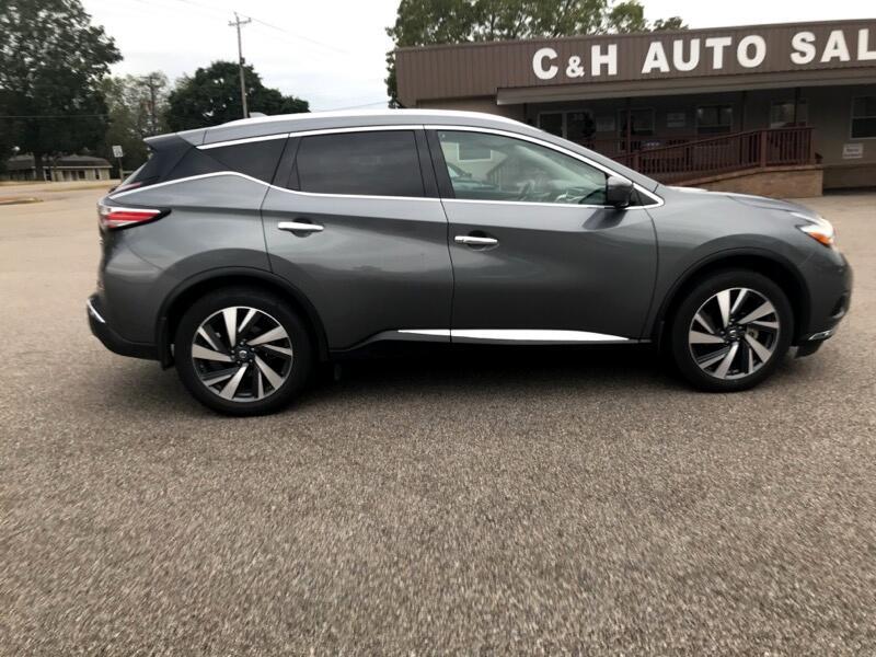 2018 Nissan Murano 2017.5 AWD Platinum