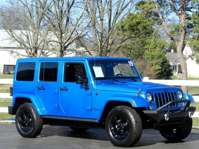 2015 Jeep Wrangler Unlimited Sahara Altitude Edition