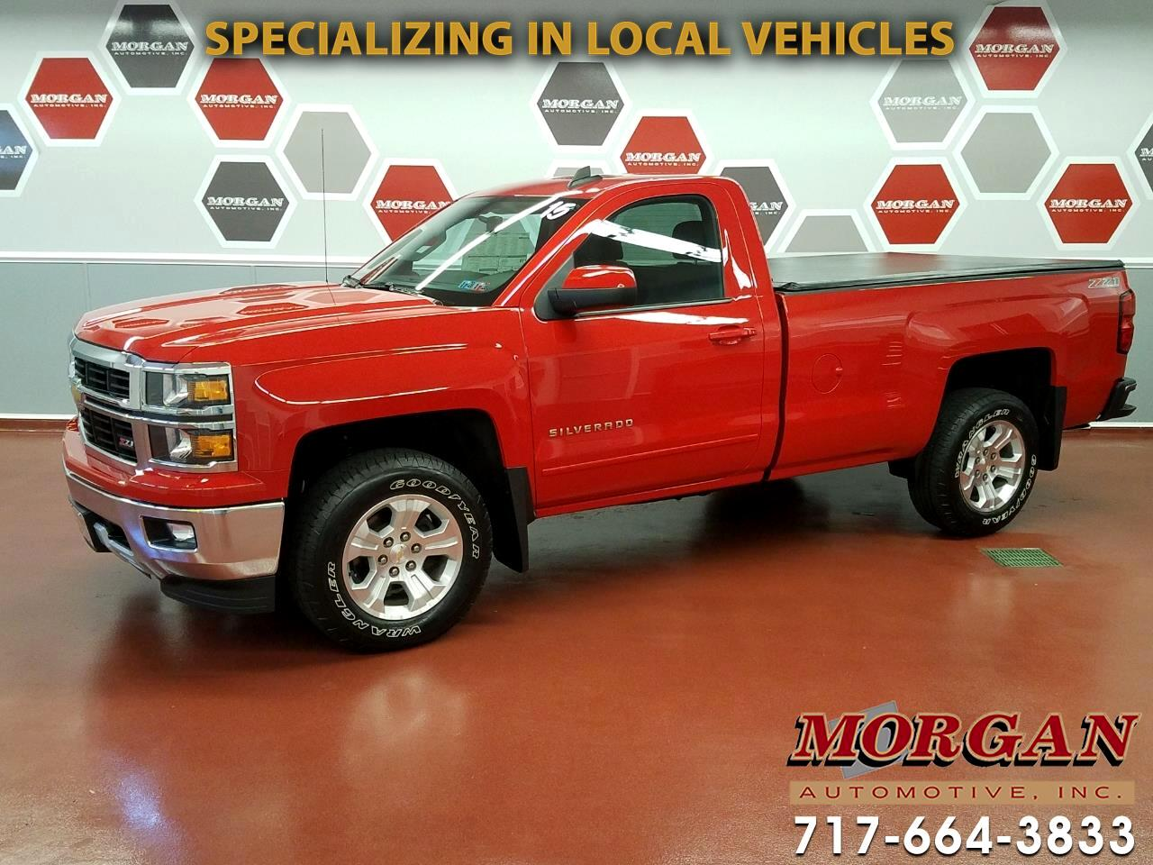 2015 Chevrolet Silverado 1500 Z71 Long Bed 4WD