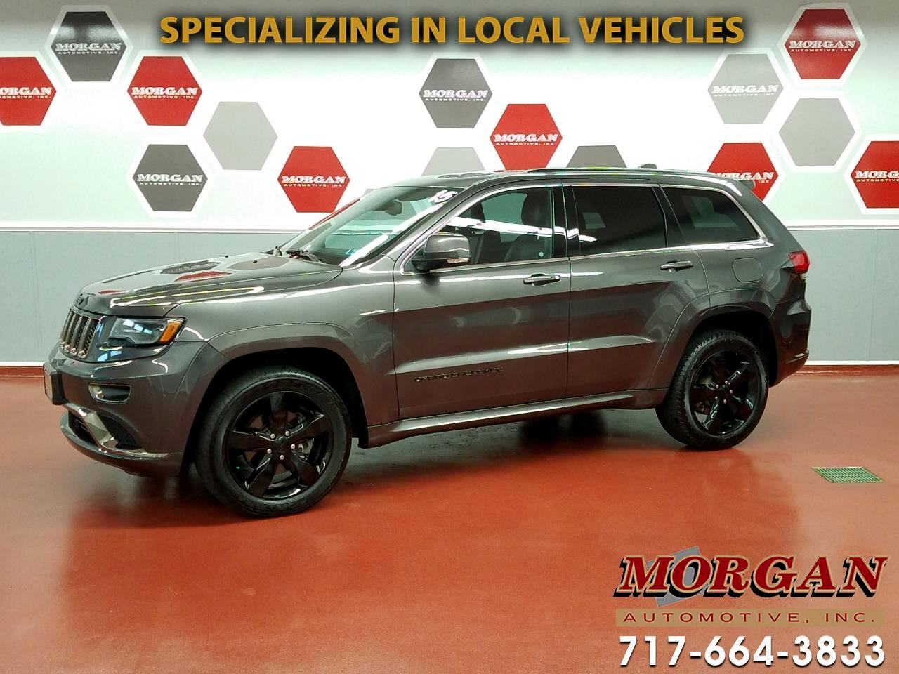 2015 Jeep Grand Cherokee Overland High Altitude 4x4