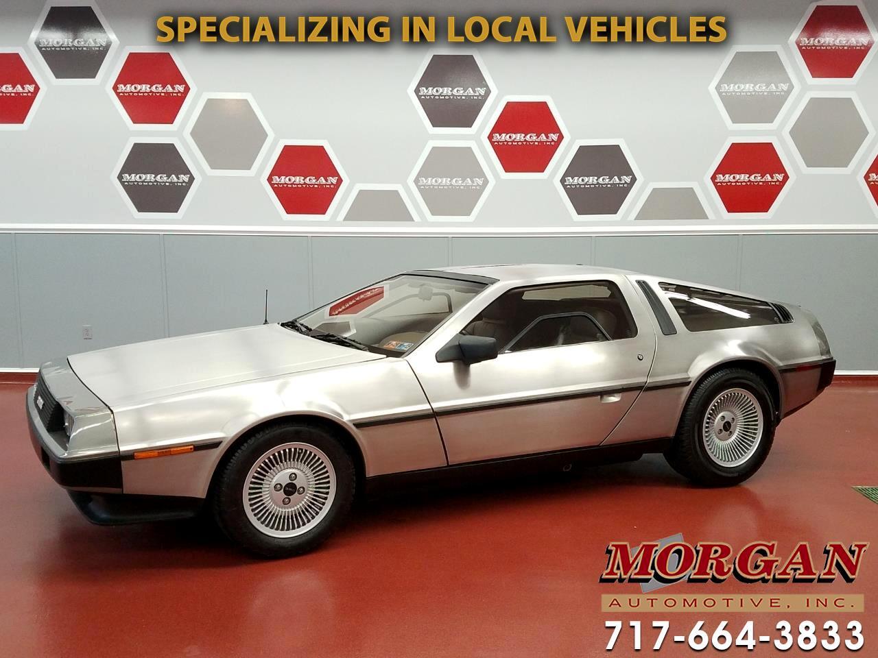 1981 DeLorean DMC-12 Stock