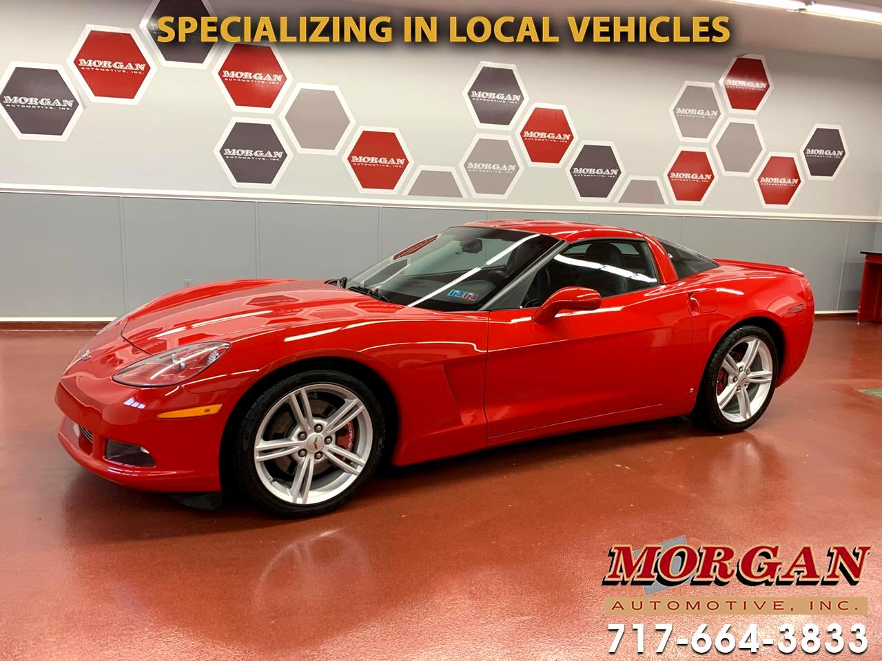 2008 Chevrolet Corvette 1LT Coupe Manual