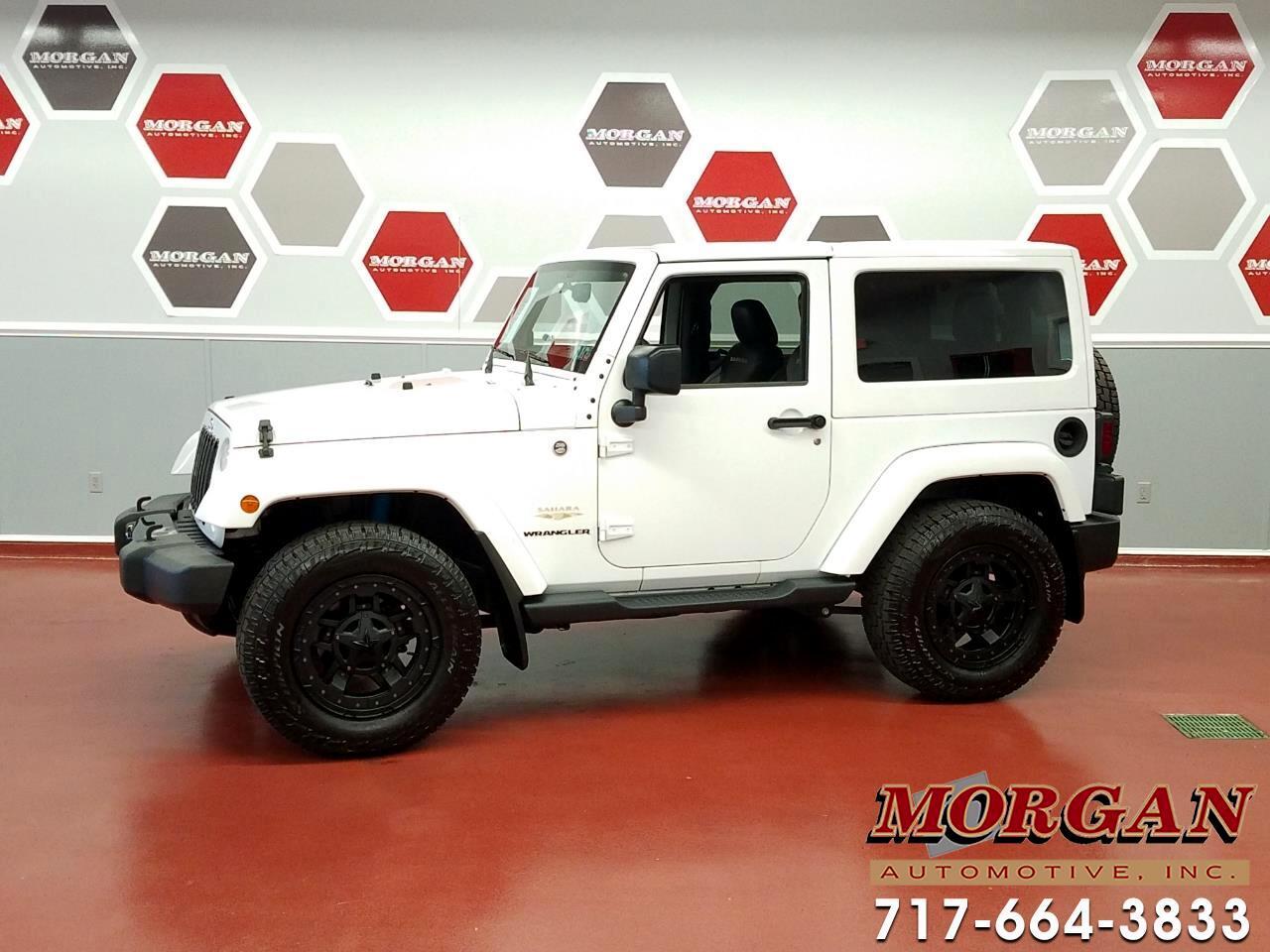 Jeep Wrangler 2dr Sahara 2015