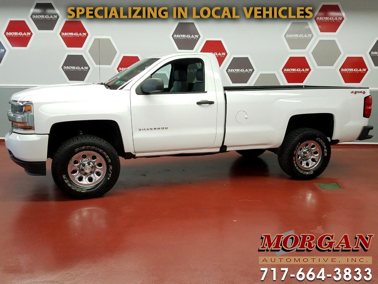 2016 Chevrolet Silverado 1500 Work Truck Long Box 4WD