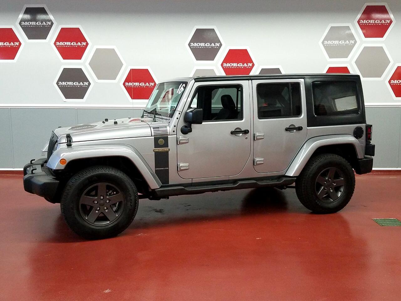 Jeep Wrangler JK Unlimited  2016