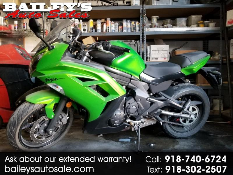 Kawasaki EX650EC  2012