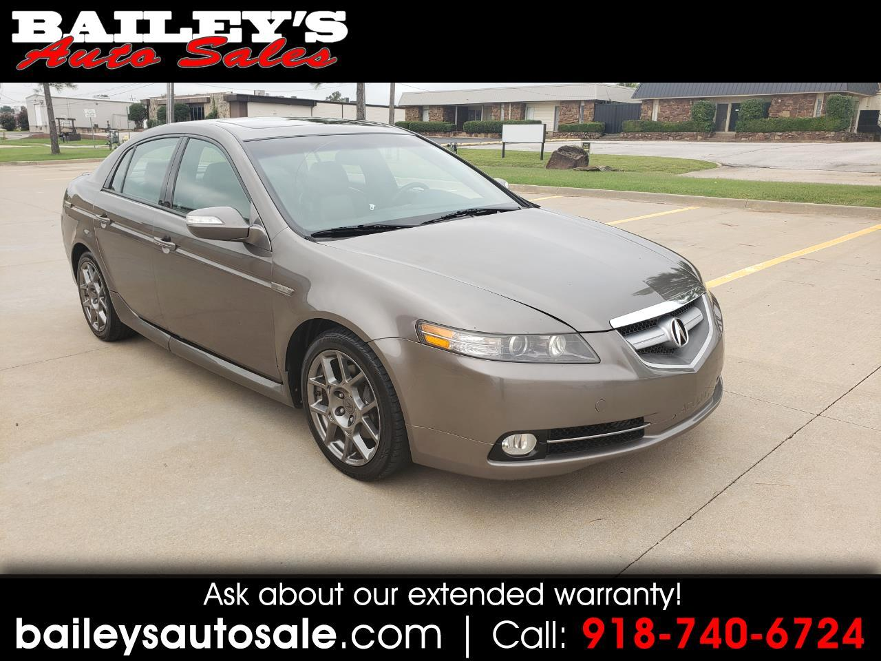 Acura TL 4dr Sdn 3.2L Type S w/Navigation 2007