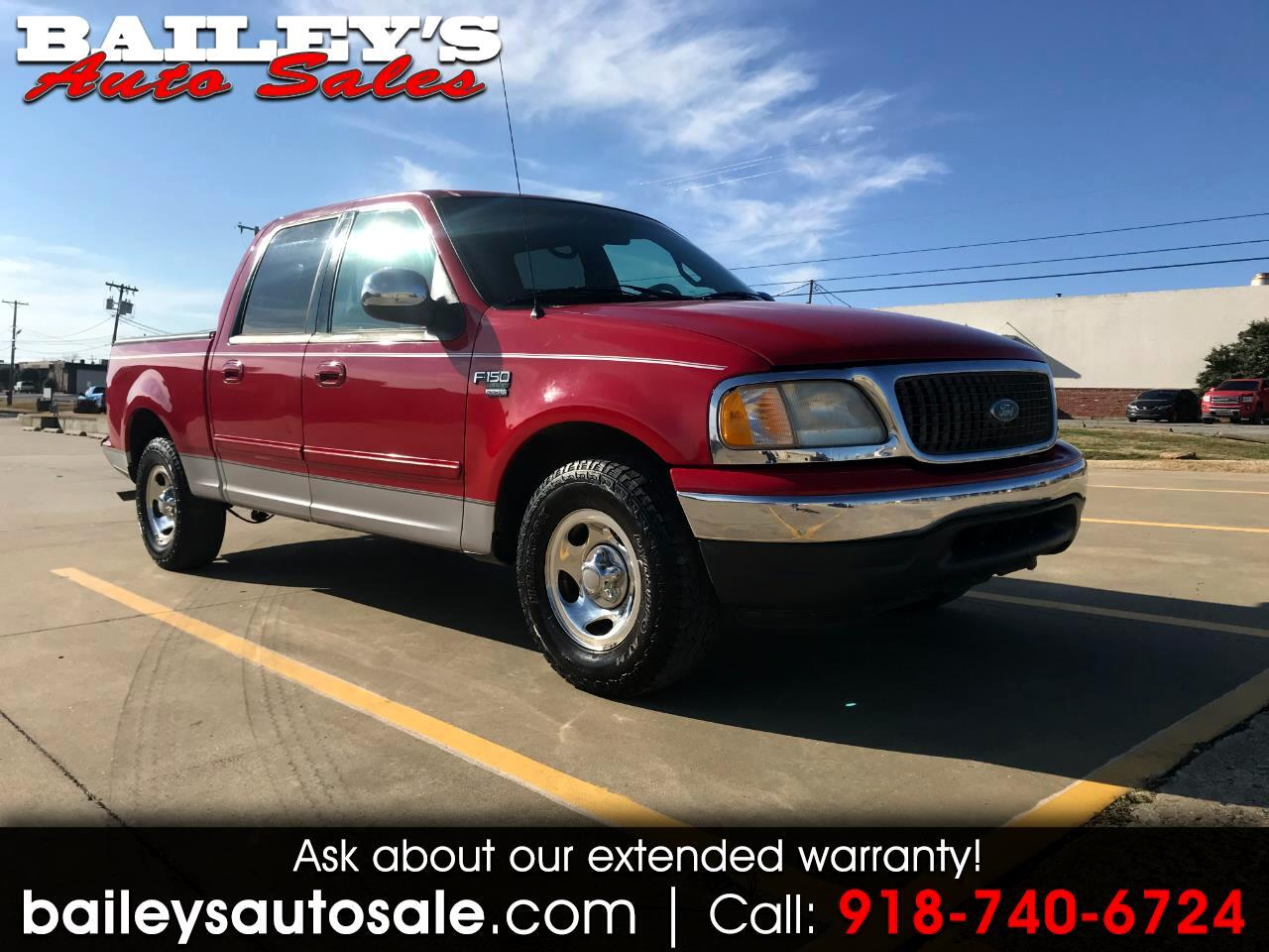 Ford F-150 XLT SuperCrew 2WD 2001