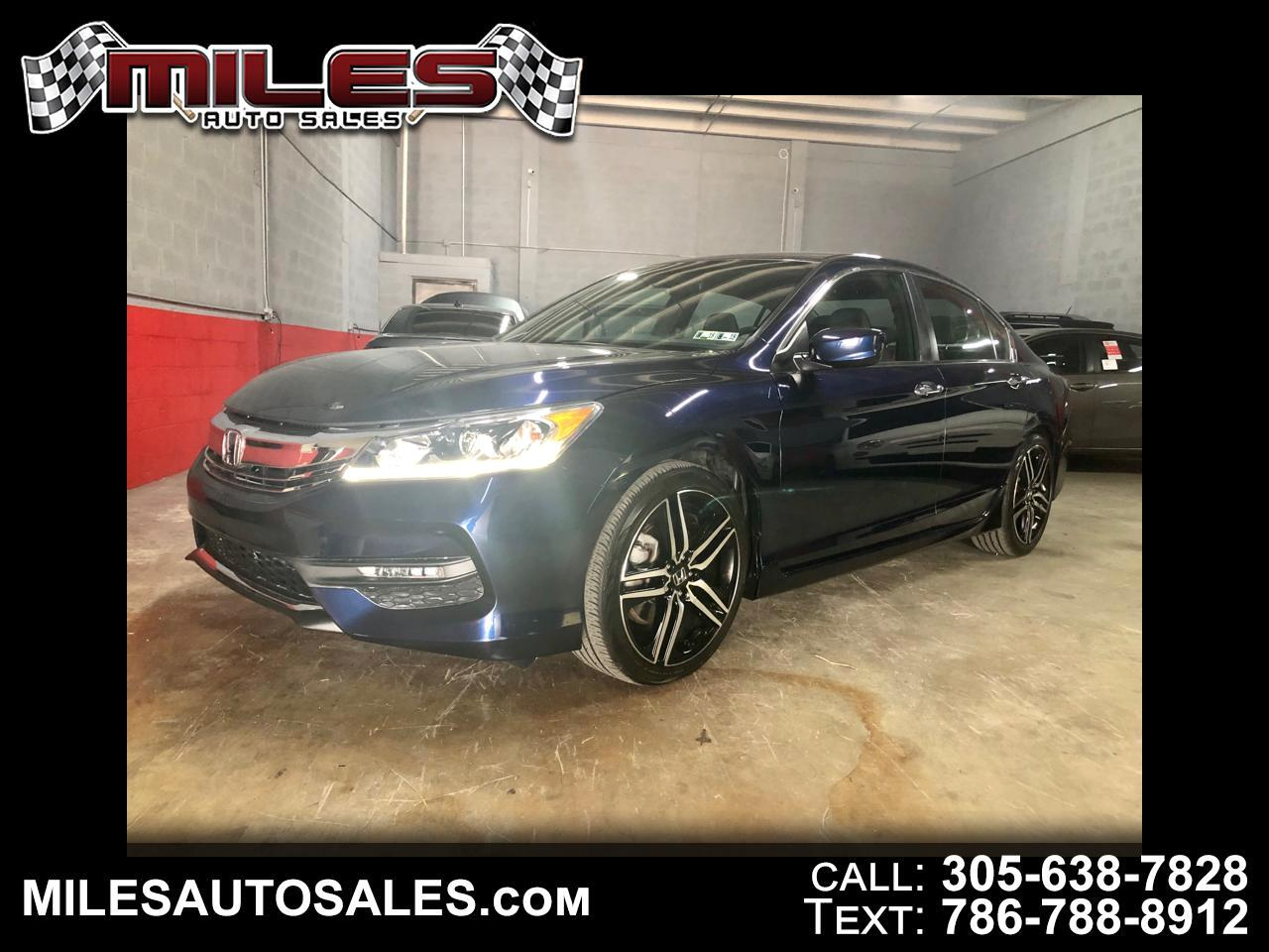 2018 Honda Accord Sport Special Edition 6M