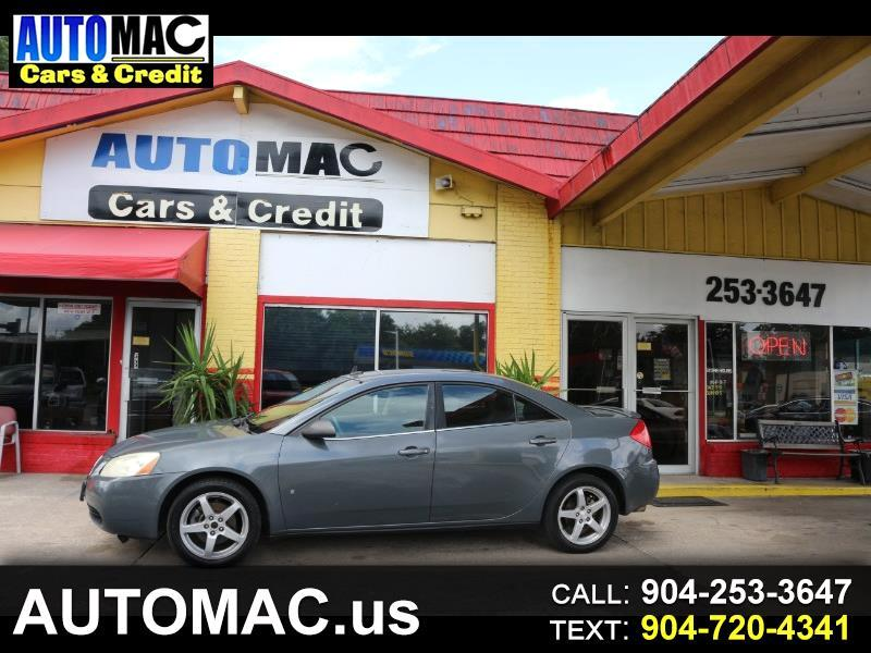 2009 Pontiac G6 GT Sedan