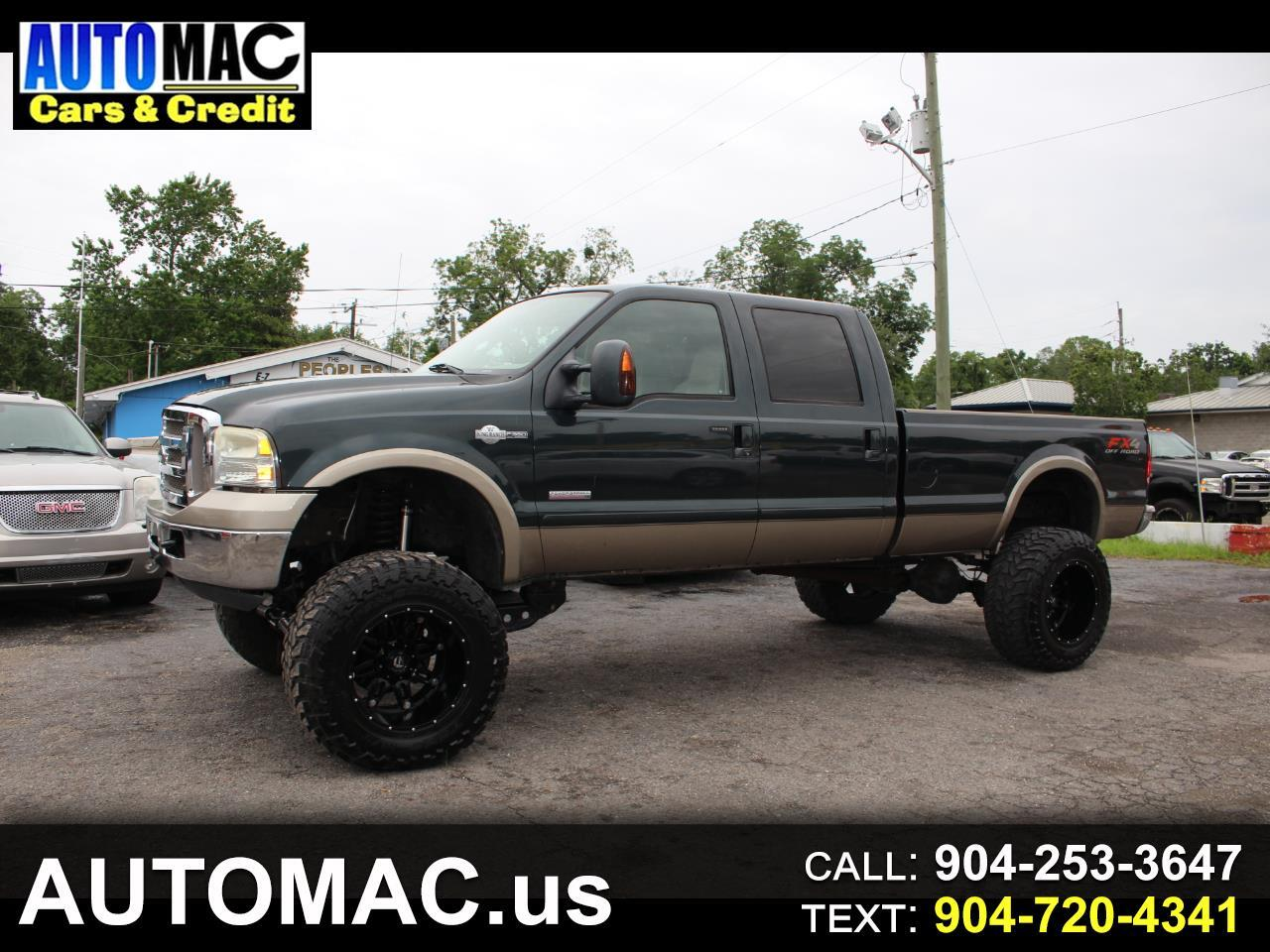 Ford F-350 SD King Ranch Crew Cab 4WD 2007