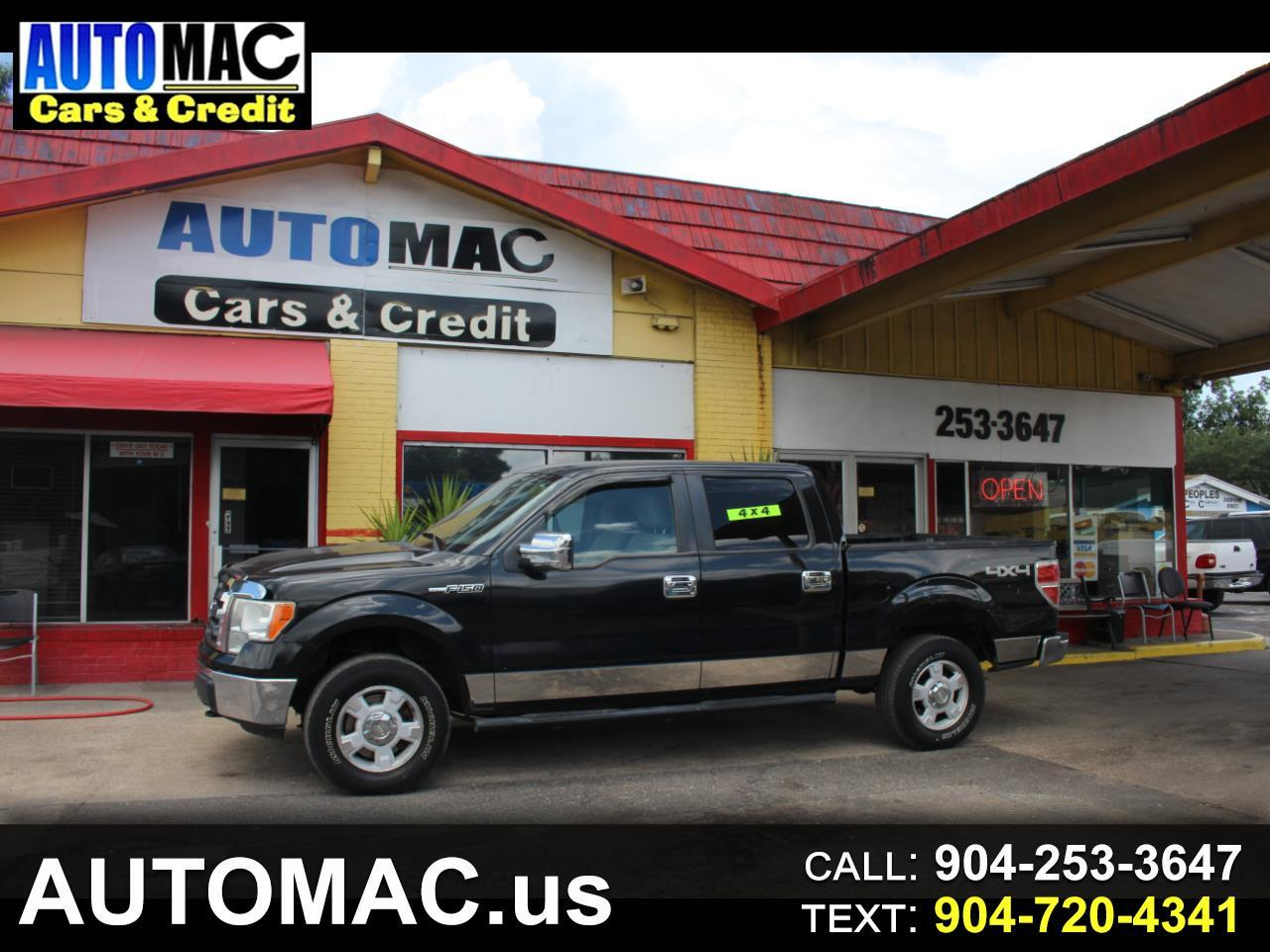 "Ford F-150 4WD SuperCab 163"" XLT 2010"