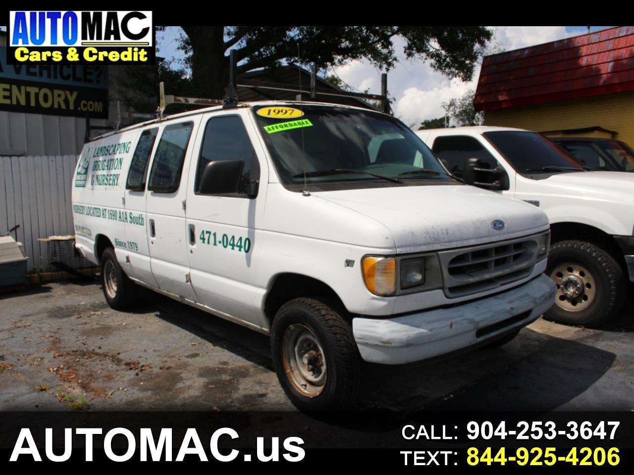 """Ford Econoline Cargo Van E-250 Super 138"""" WB 1997"""