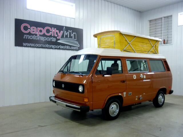 1980 Volkswagen Vanagon Riviera Full Camper