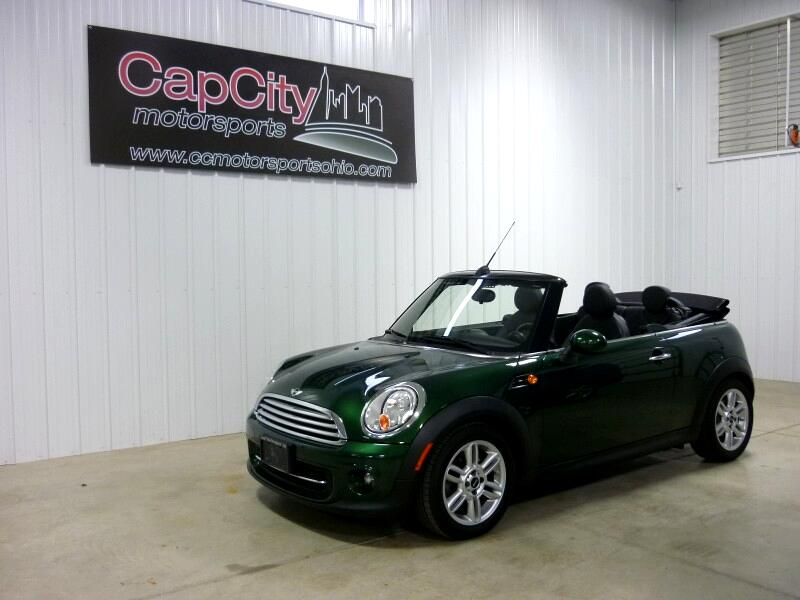 2011 MINI Cooper Convertible 6-speed