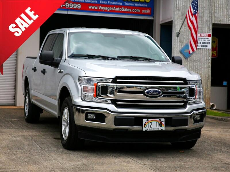 2018 Ford F-150 XLT SuperCrew Cab