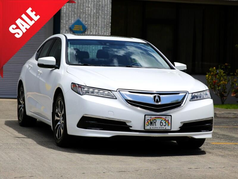2016 Acura TLX Technology Package Sedan