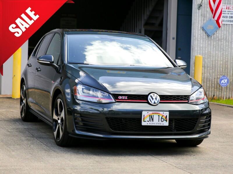 2016 Volkswagen GTI Autobahn w/ Performance Pkg