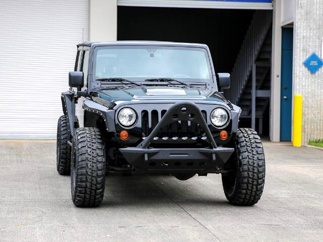 2012 Jeep Wrangler Unlimited Rubicon Call of Duty® MW3 Edition