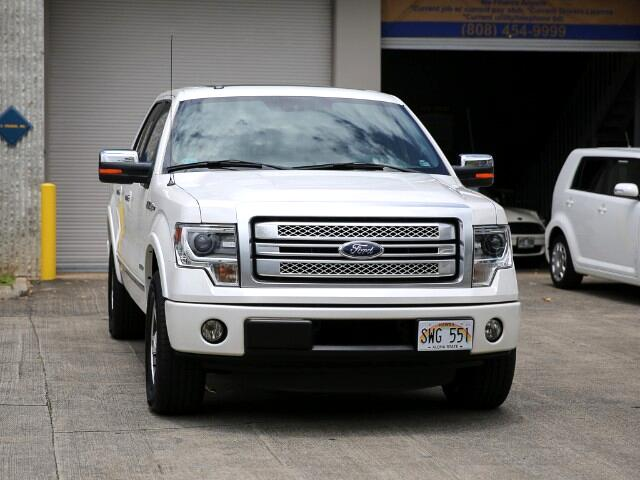 2013 Ford F-150 Platinum Supercrew Cab