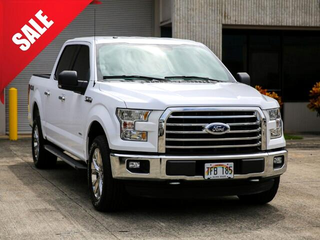 2015 Ford F-150 XLT SuperCrew Cab 4WD