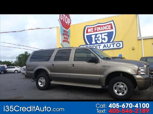 2005 Ford Excursion LMTD. 4X4 405-591-2214 CALL NOW--TEXT Below 24/7