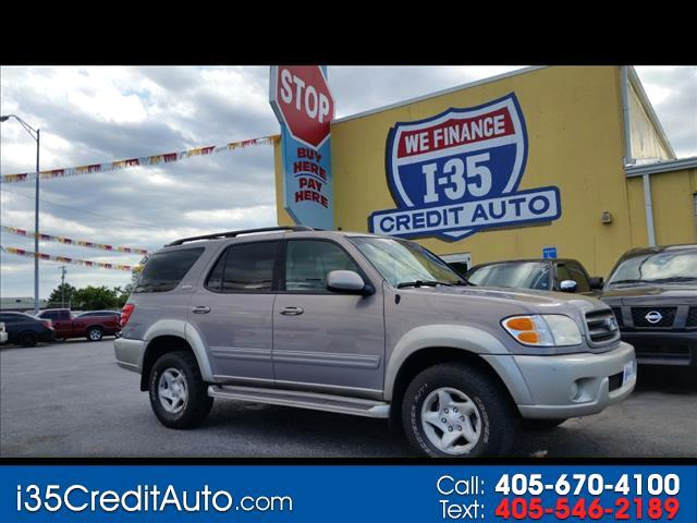 2002 Toyota Sequoia SR5 4X4 405-591-2214 CALL NOW or TEXT Below 24/7