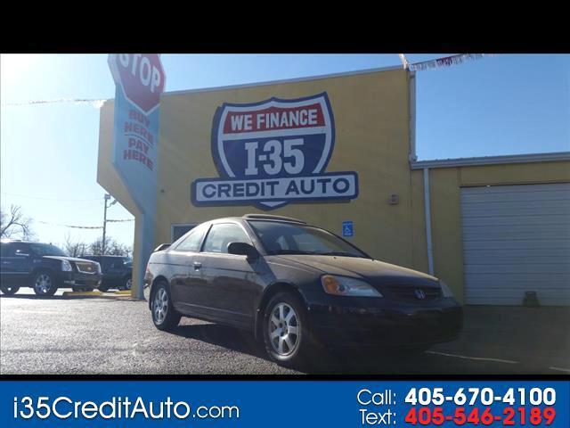 2003 Honda Civic EX Cpe 405-591-2214 CALL NOW--TEXT Below 24/7