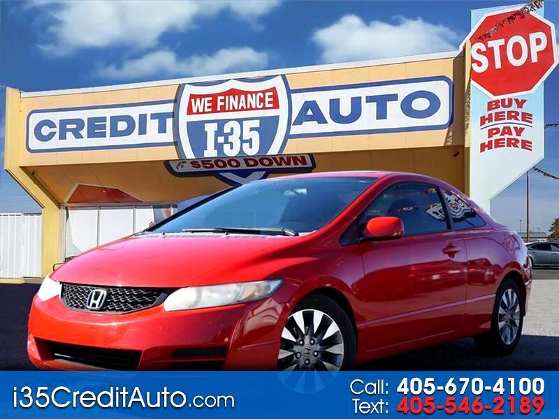 2009 Honda Civic 2dr Cpe EX Auto