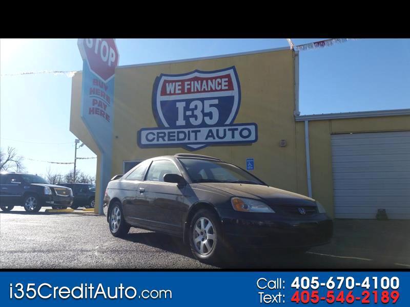 2003 Honda Civic 2dr EX 405-591-2214 CALL NOW--TEXT Below 24/7
